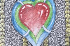 single heart