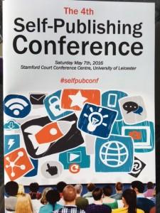self-publishing conference brochure