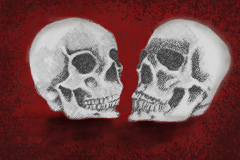 Skulls-red